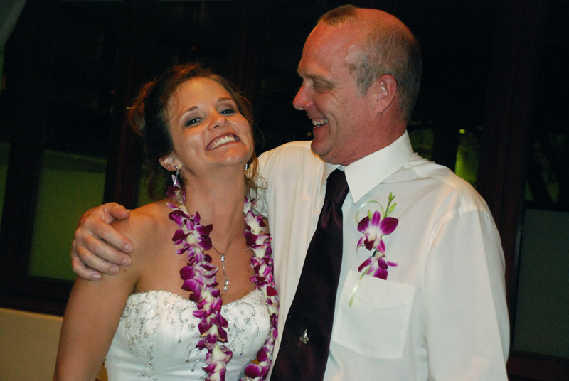 My sister and dad - healthy and happy